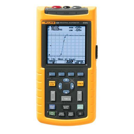 Fluke 124 Industrial ScopeMeter (40 MHz) | Maplin