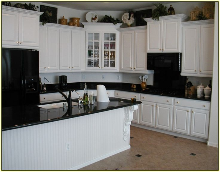 White Kitchen Black Granite 66 best granite counter white cabinet images on pinterest