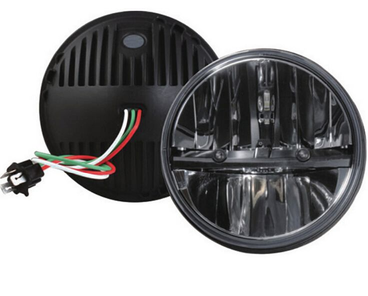 High quality product 7''LED headlight for 07-15  wrangler JK Hummer H4 High/Low 7inch 36w led headlight