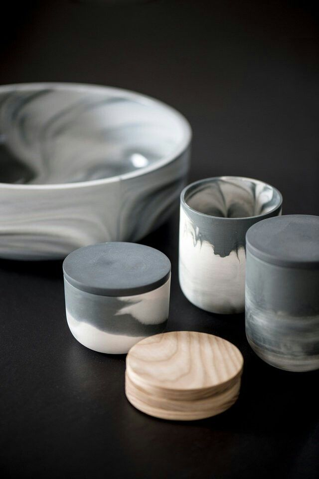Marmoreal ceramics by STUDIO smoo Photo: Pauliina Salonen