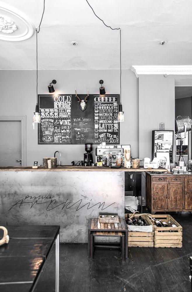 Cuisine inspiration industrielle | Industrial style Kitchen | PaulinaArcklin