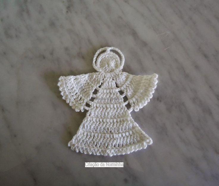 angelo uncinetto schema   Hobby lavori femminili - ricamo - uncinetto - maglia