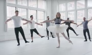Watch Five CrossFit Athletes Try (And Fail) To Keep Up With A Ballet Dancer