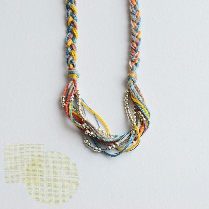 bloesem wears handmade necklace