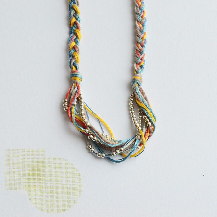 multi-color + silver by bloesem wears: Wear Silver, Colors String Necklaces, Beads Necklaces, Bloesem Kids, Handmade Kids, Friendship Necklaces, Bloesem Wear, Handmade Jewelry, Handmade Necklaces