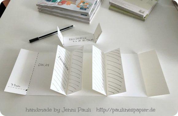 Jenni Pauli Anleitung Stampin'Up! Minialbum PrrojectLife