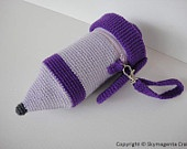 Crochet Pattern - HAIR BLOWER and CURLING iron - Toys - pdf. $5.99, via Etsy.