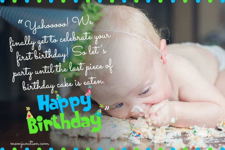 106 Wonderful 1st Birthday Wishes And Messages For Babies 1st Birthday Wishes Birthday Wishes First Birthday Wishes