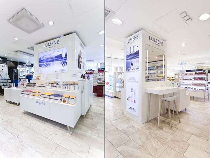 228 best interior design cosmetic stores images on for Retail interior design firms