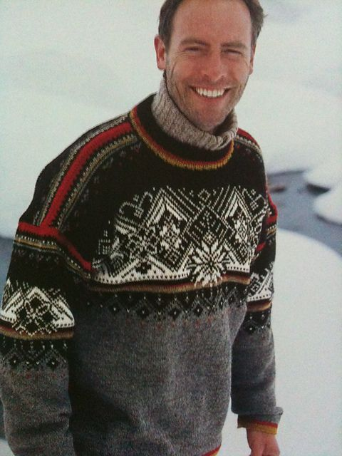 St. Moritz pattern by Dale of Norway / Dale Design - actually, I just think he's cute!