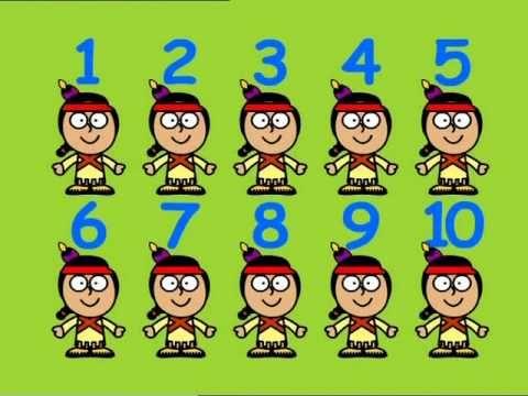 Heel veel lesideeën indianen / Gracie Lou -  Ten Little Indians