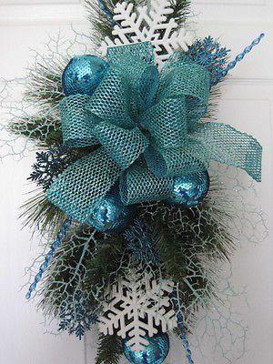 Resultado de imagen para decoracion navideña color turquesa