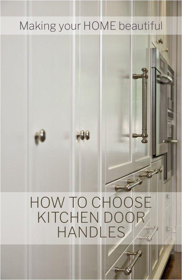 How To Choose Kitchen Door Handles Kitchen Door Handles Door