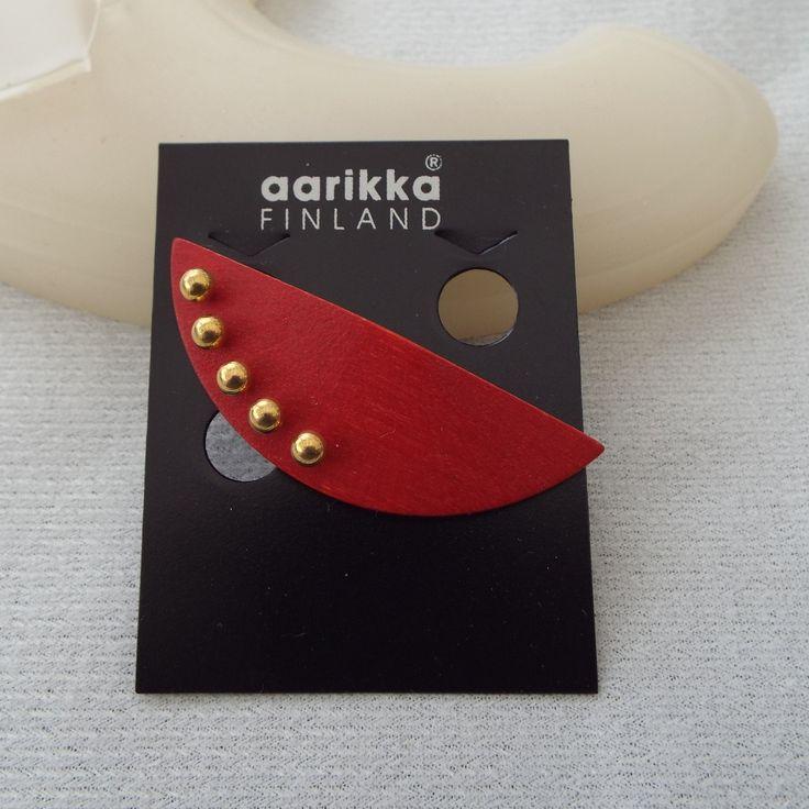 AARIKKA Finland Brooch On The Original Card, Excellent
