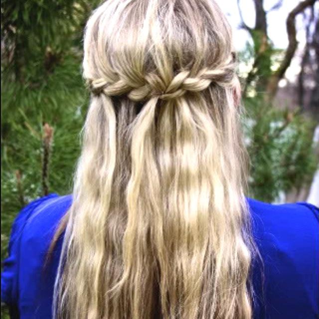Cute braided hairstyle <3