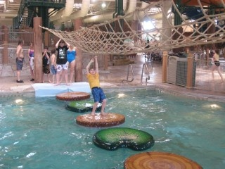 Great Wolf Lodge water park! In Dallas and KC