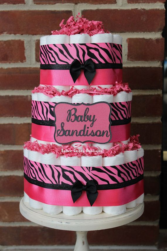 41d8d0c0cec0 ... best zebra diaper cakes ideas on girl diaper cakes