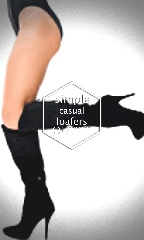 67b397e43dc Master how to put on and combine loafers with items as part of your clothing