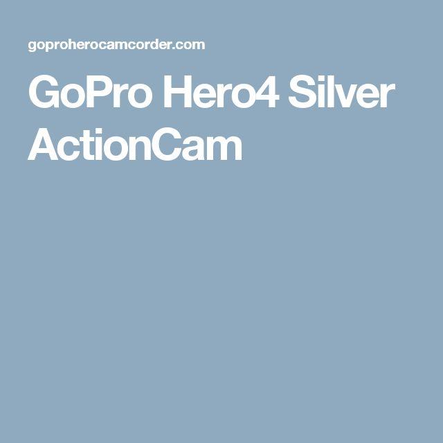 GoPro Hero4 Silver ActionCam