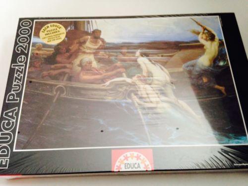 Educa Puzzle 2000 11758 Ulysses and The Sirens by Herbert Draper | eBay
