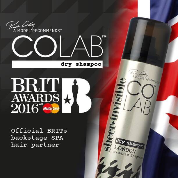 Roll out that red carpet! It's the biggest night in UK music! The BRITs 2016, packed with your favourite music and stars. COLAB, The world's best dry shampoo has been chosen as the Official Backstage SPA Hair Partner and we can't wait for it to begin! Cool, Stylish & Edgy, COLAB & The BRITs are a perfect match. #BRITs #MadeinBritain BelieveTheHype #ColabHair