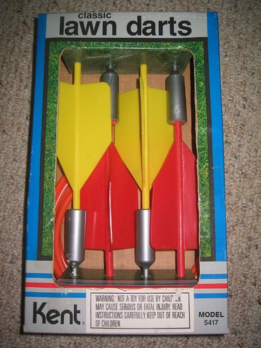 "Anyone born up to the mid 1980s can remember a favorite toy, that now looking back makes you want to say, ""What the hell were my parents thinking?!"" Now I am talking about toys outside of M-80s, BB Guns, Swiss Army Pocket Knives and Cherry Bombs...."