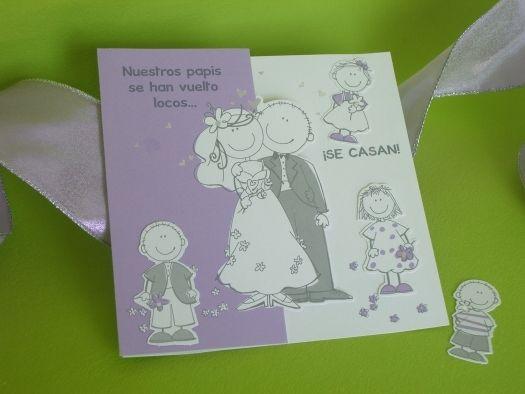 invitaciones de casamiento para novios con hijos - Buscar con Google