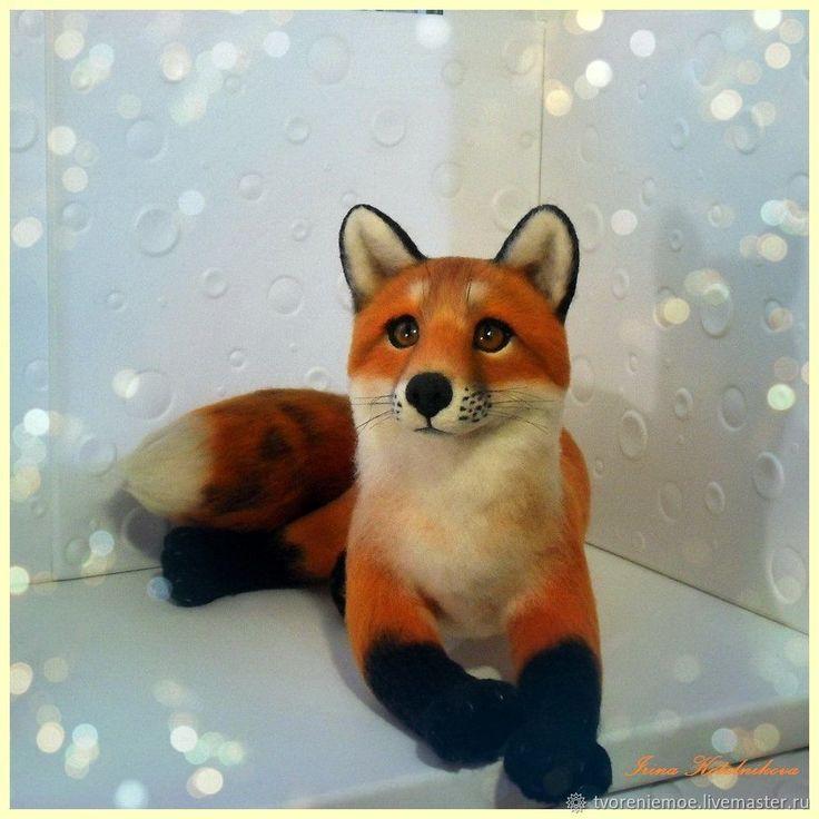Рыжая лиса – купить в интернет-магазине на Ярмарке Мастеров с доставкой