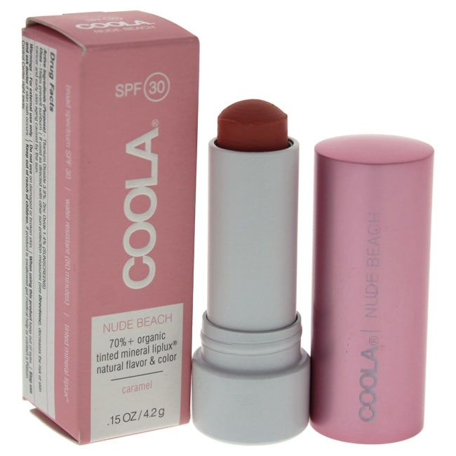 Coola Mineral Liplux SPF 30 Nude Beach Light Pink