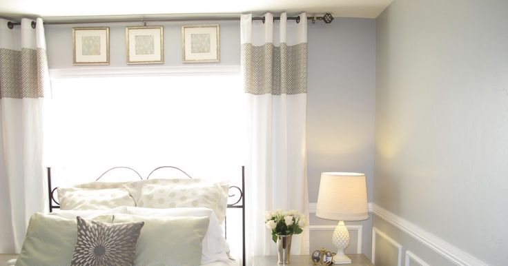 Little Miss Penny Wenny: How to extend your curtains with style