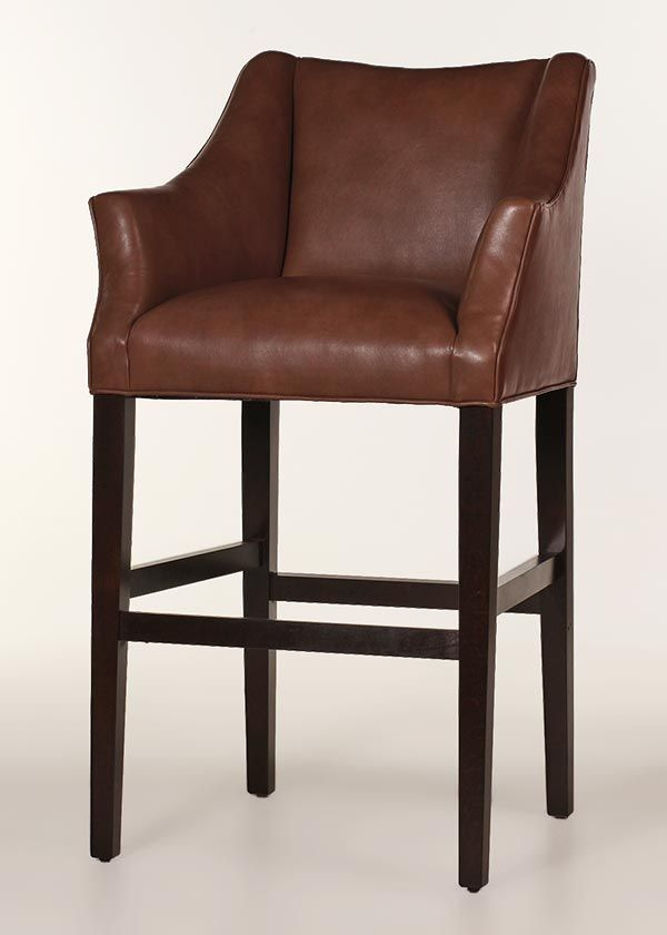 Teton Leather Bar Stool Customize Color Finish Leather Bar Stools Bar Stools Restaurant Bar Stools