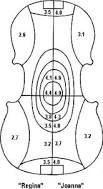 Resultado de imagem para violin measurements