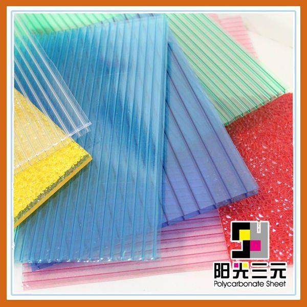 greenhouse roofing material,roof covering ,polycarbonate greenhouse panels $1.5~$4