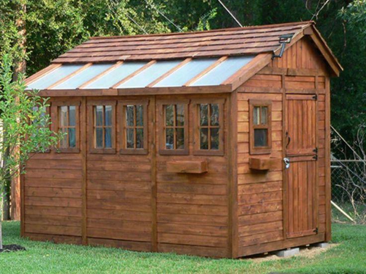 Best 50 garden sheds images on pinterest gardening for Unique garden shed designs