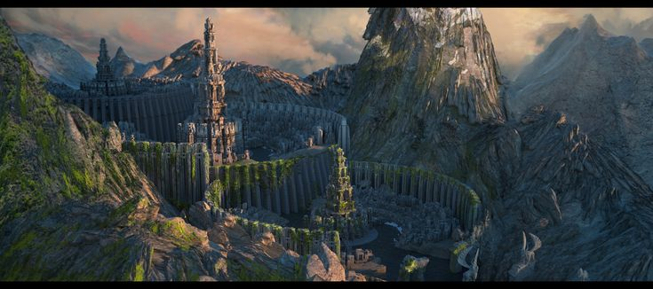 ArtStation - Yuriy Kubickiy's submission on Ancient Civilizations: Lost & Found - Environment Design
