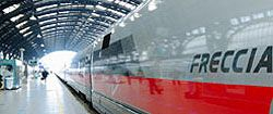 Train Reservations in Italy   Eurorail passes, point-to-point tickets, Eurostar trains, InterCity trains, high-speed trains in Europe - In Italy Online