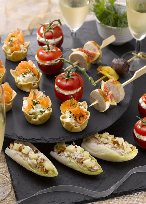 17 meilleures id es propos de buffet froid sur pinterest - Idee pour buffet froid maison ...