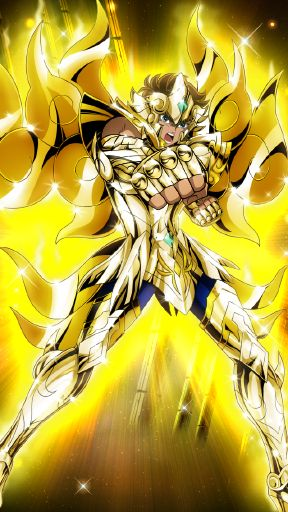 Leo Aiolia(God Cloth) - Saint Seiya - Zodiac Brave by FernanDohko