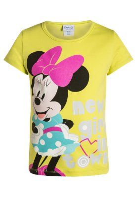 MINNIE MOUSE - T-shirts print - lime