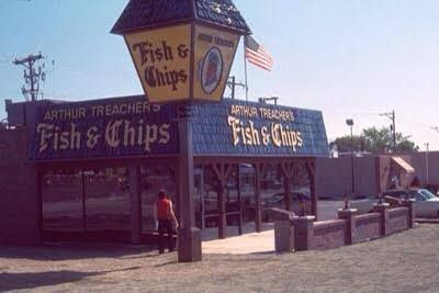 The old arthur treachers fish and chips on lathrop avenue for Fish fry racine wi
