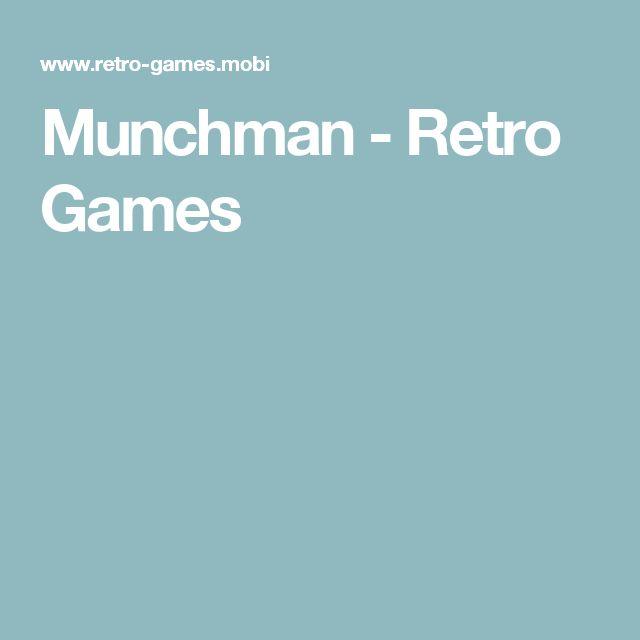 Munchman - Retro Games