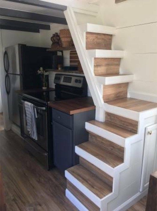 This is a modern tiny house on wheels in Denver, Colorado that's for sale ($60k). Enjoy and learn more below! Thanks! 8'x24′ Tiny House on Wheels in Denver, Colorado For Sale!