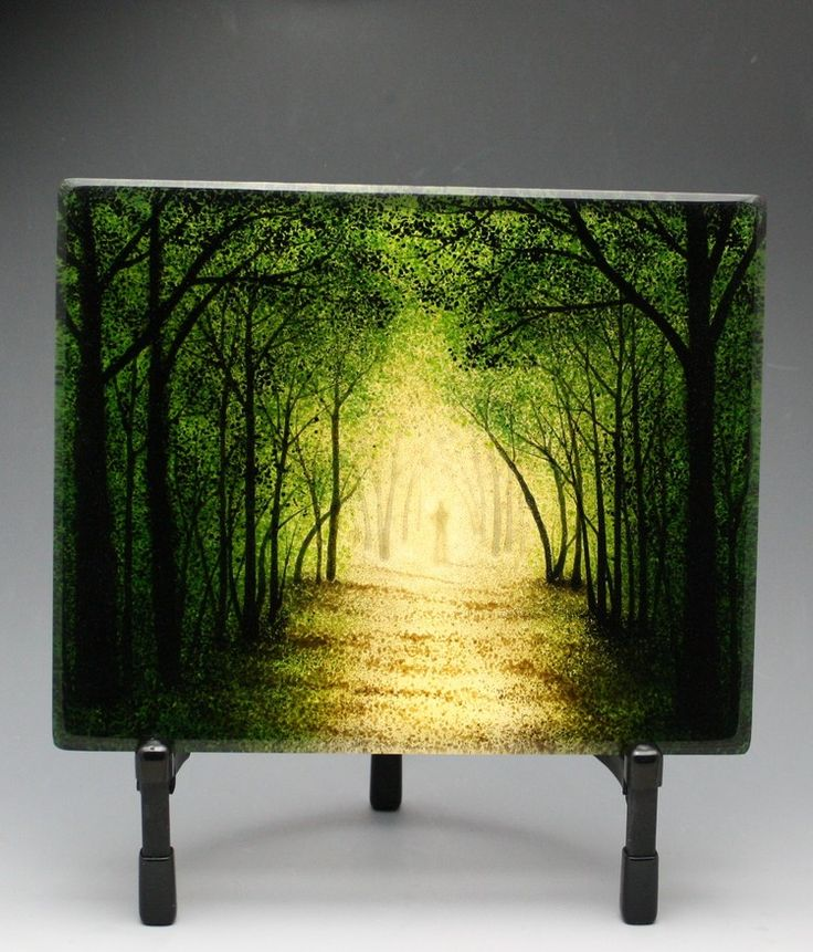 Colorful Wall Glass Art Composition - Wall Art Collections ...