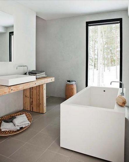 """Baño De Tina Con Rosas:Rosa Beltran Design: """"ORGANIC MODERN"""" BATHROOM DESIGN"""