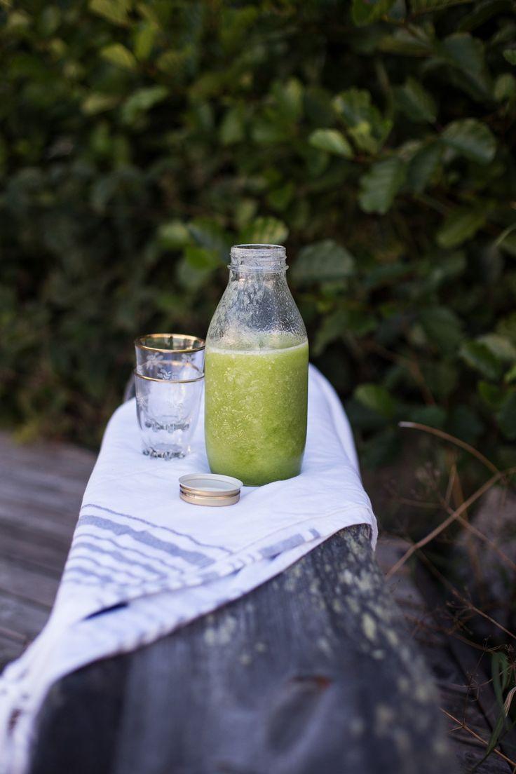 Cucumber & Honeydew Shake | tuulia blog