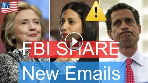 News Alert : Hillary Clinton LATEST NEWS Today , FBI SHARE New Emails From Hillary To Huma Abedin: Please Subscribe & Share