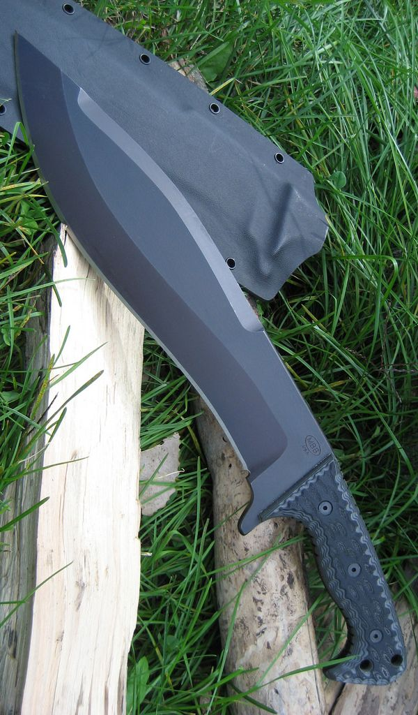 Miller Bros. Blades - M-19 Chopper Survival Fixed Blade Knife. Passionate pursuit of drool worthy amazing gear. Ultimate armory of quality knives, EDC, firearms, weapons, gadgets, fashion items & toys for the grown up. @aegisgears