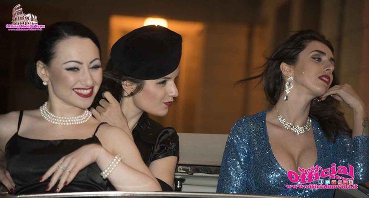 BURLESQUE IL CAPUT MUNDI SPAZIO NOVECENTO - Al Festival Internazionale Del Burlesque Ideato Da Albadoro Gala Piume, lustrini e paillettes
