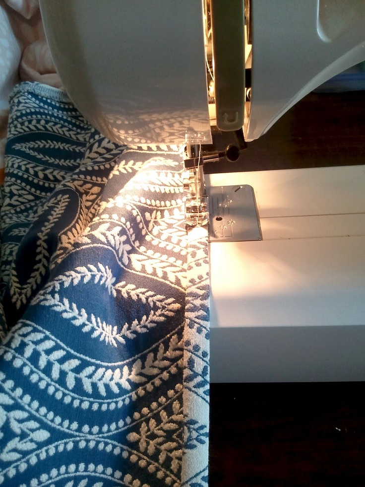 How to: Sew Simple Curtains