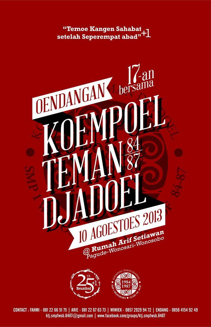 Invitation for KTJ - Wonosobo